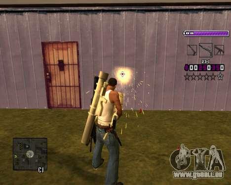 C-HUD Lite v3.0 pour GTA San Andreas quatrième écran