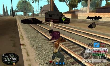 C-HUD Rainbow pour GTA San Andreas quatrième écran