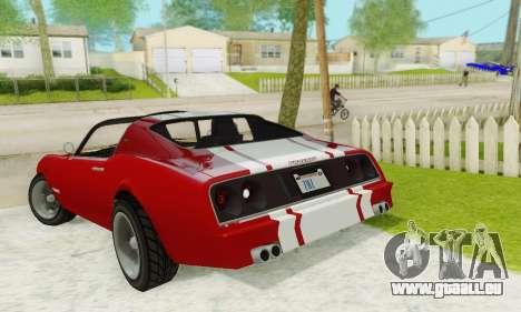 Imponte Phoenix из GTA 5 pour GTA San Andreas vue de côté