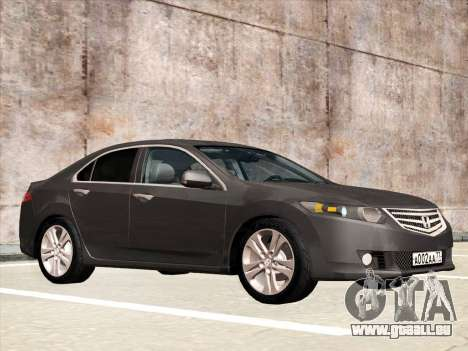 Honda Accord 2009 für GTA San Andreas zurück linke Ansicht