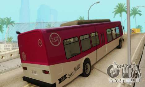 Autobus de transport en commun из GTA 5 pour GTA San Andreas vue de droite