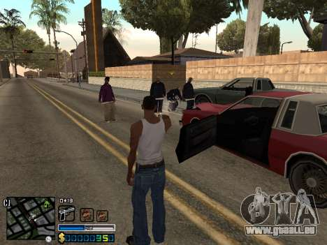 C-HUD By Stafford für GTA San Andreas her Screenshot