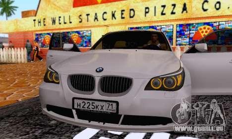 BMW 530xd pour GTA San Andreas vue de côté