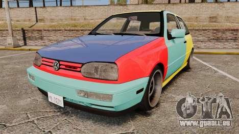 Volkswagen Golf MK3 Harlequin für GTA 4