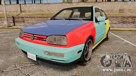 Volkswagen Golf MK3 Harlequin pour GTA 4
