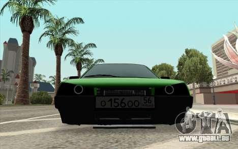 VAZ 2109 lime Diamant pour GTA San Andreas sur la vue arrière gauche