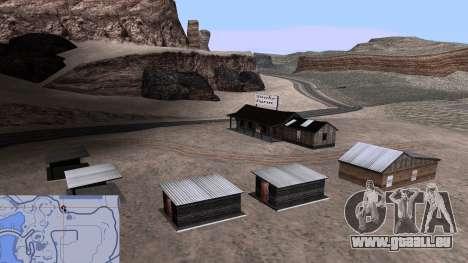 Mis à jour serpent ferme pour GTA San Andreas quatrième écran
