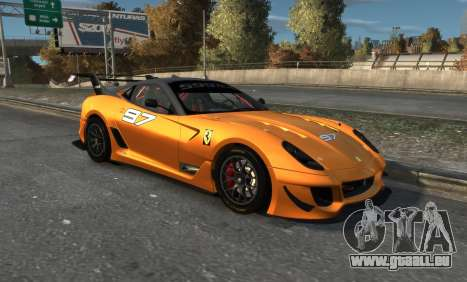 Ferrari 599xx Evoluzione pour GTA 4 est une gauche