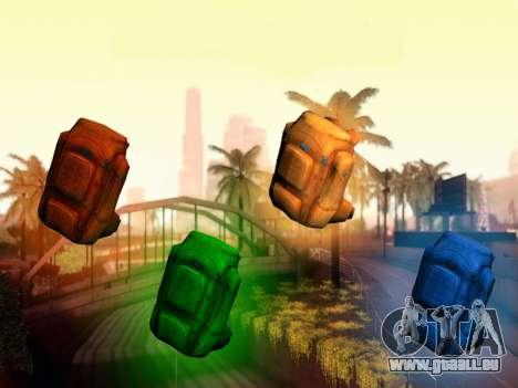 Rucksack aus der Verwesung für GTA San Andreas