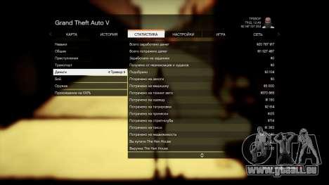 GTA 5 Speichern GTA 5 100% und 1 Milliarde PS3 fünfter Screenshot