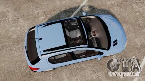 Peugeot 206 für GTA 4 rechte Ansicht