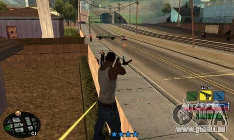 C-HUD Rainbow für GTA San Andreas