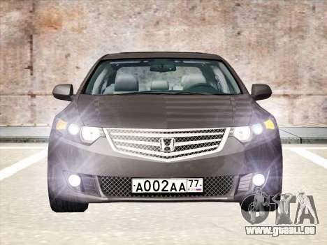 Honda Accord 2009 für GTA San Andreas rechten Ansicht