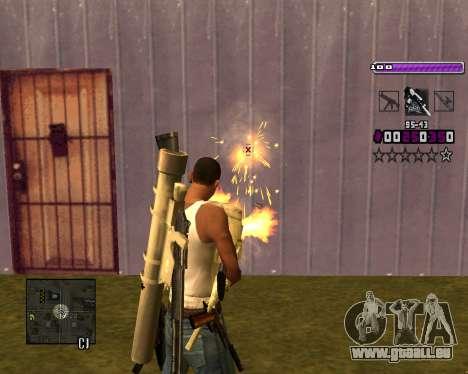 C-HUD Lite v3.0 pour GTA San Andreas sixième écran