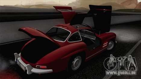 Mercedes-Benz 300SL 1955 für GTA San Andreas Seitenansicht