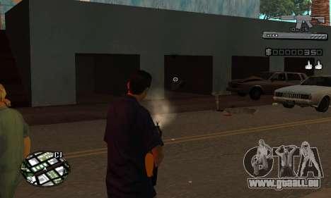 C-HUD Smoke pour GTA San Andreas cinquième écran