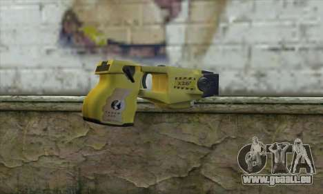 Taser Gun pour GTA San Andreas deuxième écran