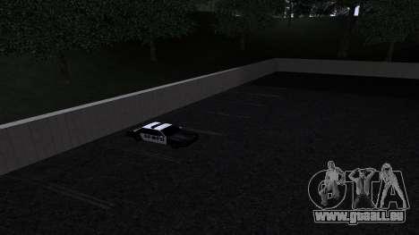 De nouvelles textures SFPD pour GTA San Andreas cinquième écran