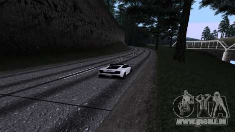 New Roads v2.0 pour GTA San Andreas neuvième écran