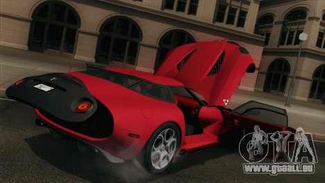 Alfa Romeo Zagato TZ3 2012 für GTA San Andreas Seitenansicht