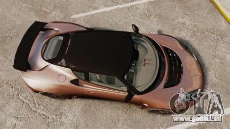 Lotus Evora GTE Mansory für GTA 4 rechte Ansicht