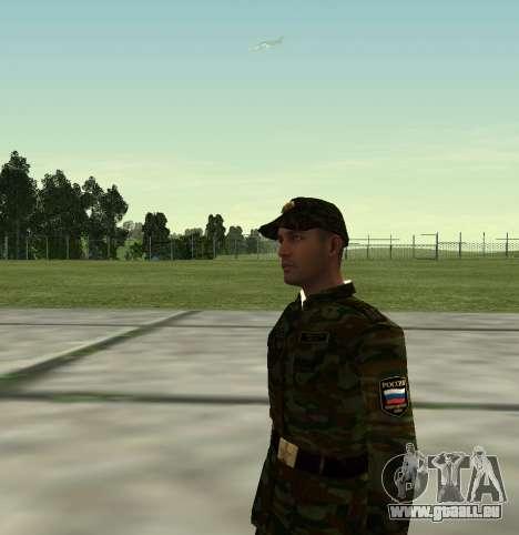 Combattant de l'Armée russe v 2.0 pour GTA San Andreas troisième écran