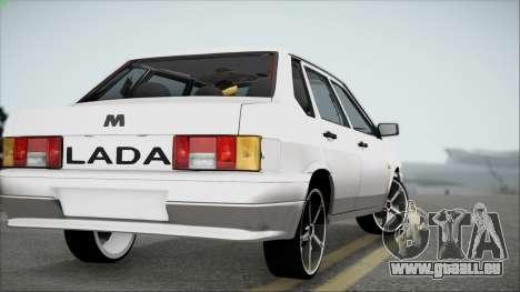 CES M pour GTA San Andreas sur la vue arrière gauche