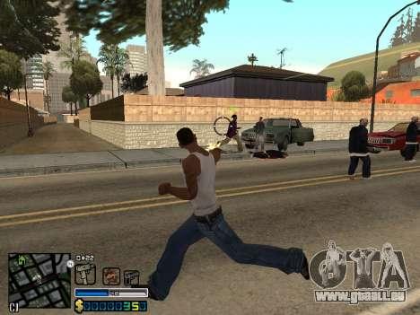 C-HUD By Stafford für GTA San Andreas sechsten Screenshot