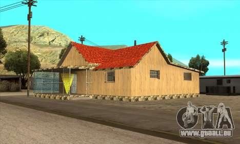 Nouvelle maison de Sijia dans El Quebrados v1.0 pour GTA San Andreas