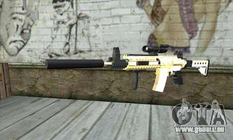 Golden M4A1 pour GTA San Andreas