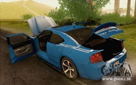 Dodge Charger SRT8 2006 pour GTA San Andreas vue de côté