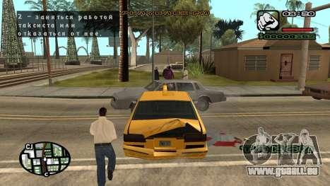 Nouvelle police V.3 pour GTA San Andreas pour GTA San Andreas huitième écran
