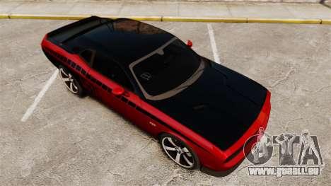 Dodge Challenger SRT8 2012 für GTA 4 Unteransicht