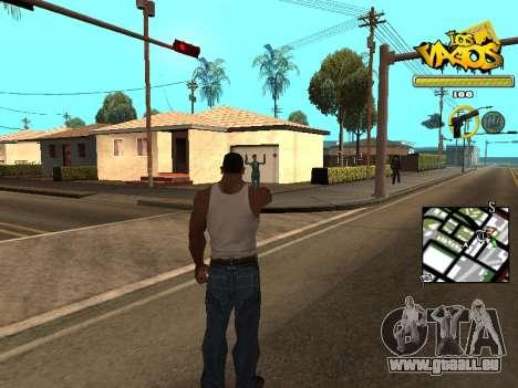 Vagos Gang HUD für GTA San Andreas zweiten Screenshot