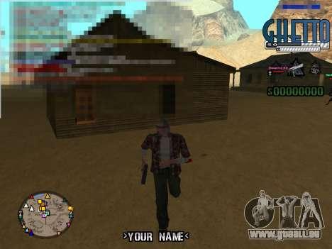 C-Hud Ghetto für GTA San Andreas zweiten Screenshot