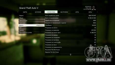 GTA 5 Speichern GTA 5 100% und 1 Milliarde PS3 vierten Screenshot