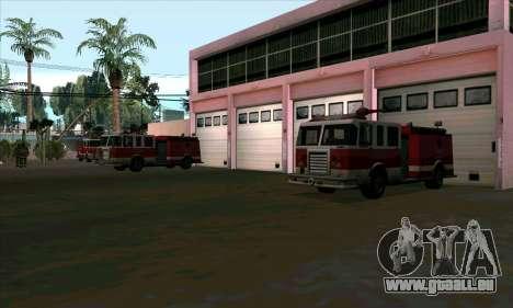 Réaliste de la station de feu à Las Venturas pour GTA San Andreas troisième écran