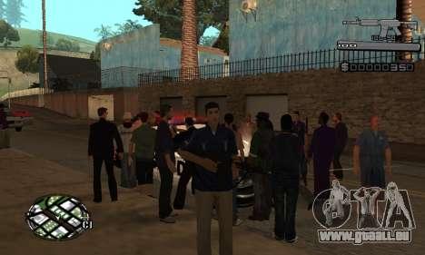 C-HUD Smoke pour GTA San Andreas