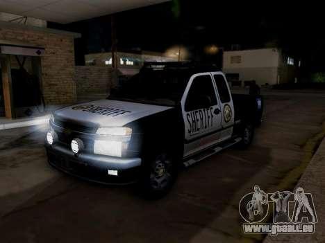 Chevrolet Colorado Sheriff für GTA San Andreas Motor