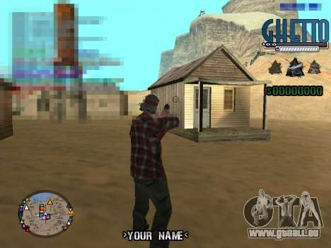 C-Hud Ghetto für GTA San Andreas