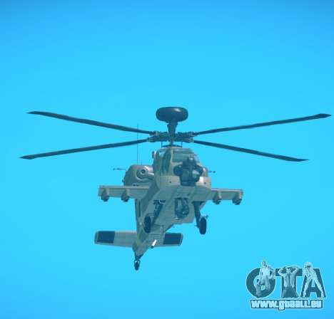 AH-64 Longbow Apache für GTA San Andreas