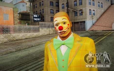 Le clown de GTA 5 pour GTA San Andreas