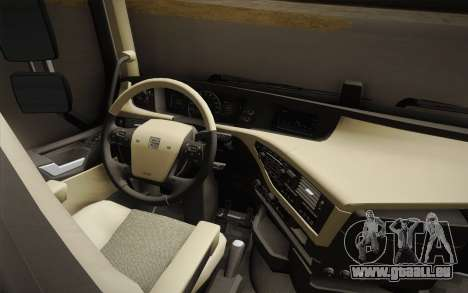 Volvo FH 750 2014 pour GTA San Andreas vue intérieure
