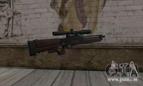 Walther WA2000 für GTA San Andreas zweiten Screenshot