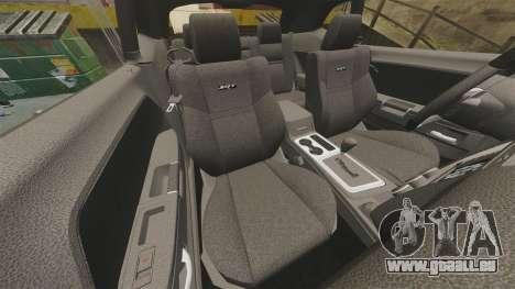 Dodge Challenger SRT8 2012 pour GTA 4 est un côté