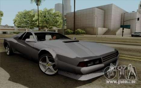 Cheetah v2 für GTA San Andreas