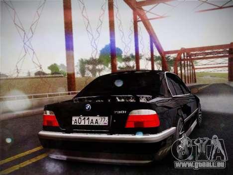 BMW 730d E38 1999 für GTA San Andreas linke Ansicht