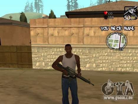 C-HUD by San4os pour GTA San Andreas troisième écran