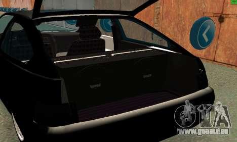 VAZ-21123 TURBO-Aufladung für GTA San Andreas Innenansicht