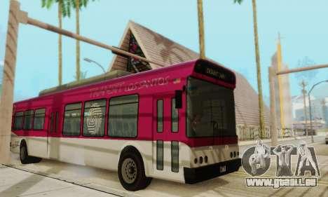 Autobus de transport en commun из GTA 5 pour GTA San Andreas laissé vue
